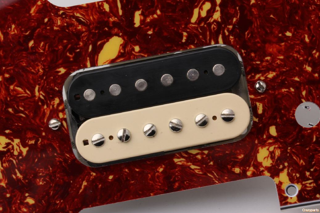 Perfect routings for Humbuckers